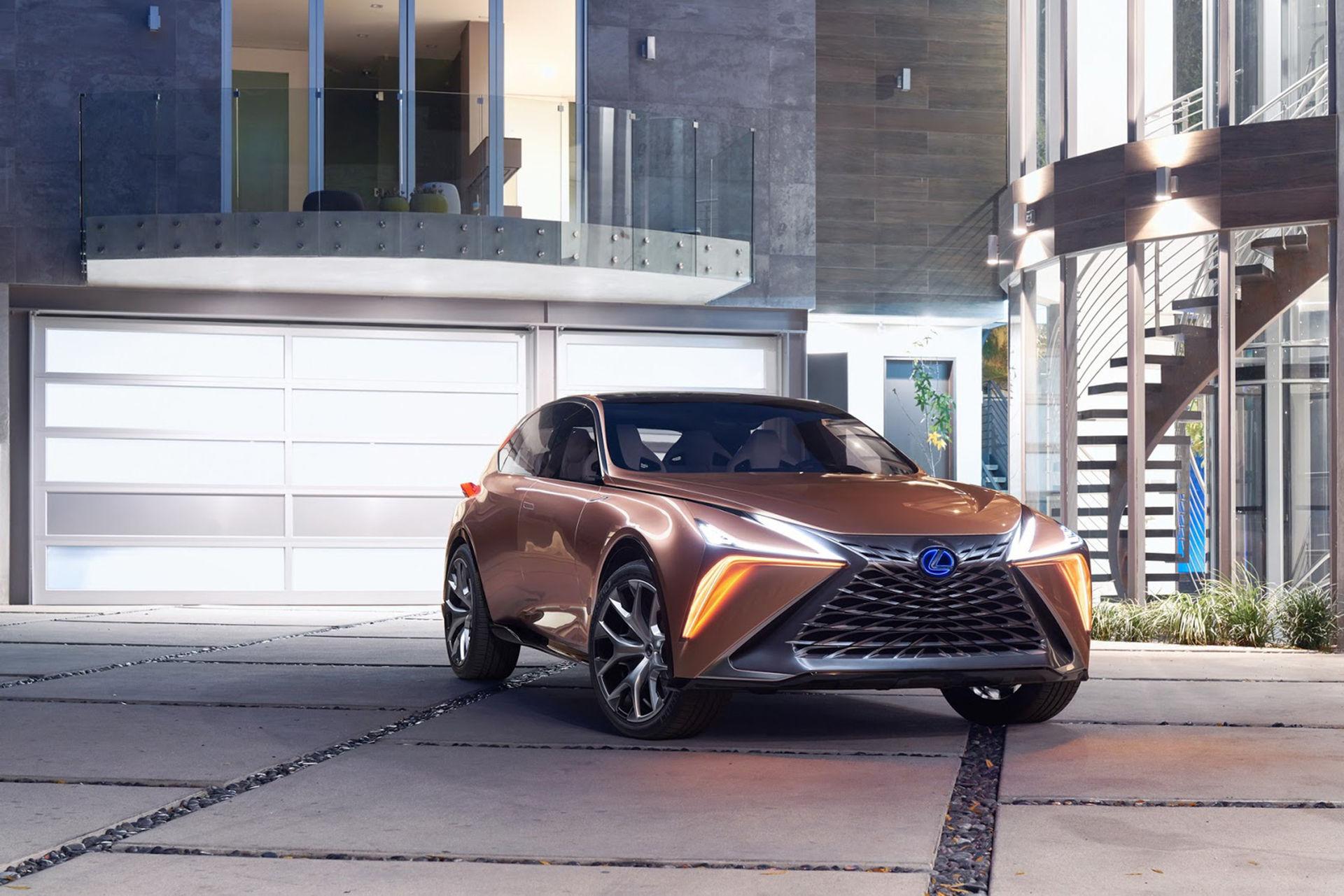 Lexus flaggskepp i crossover-världen är här