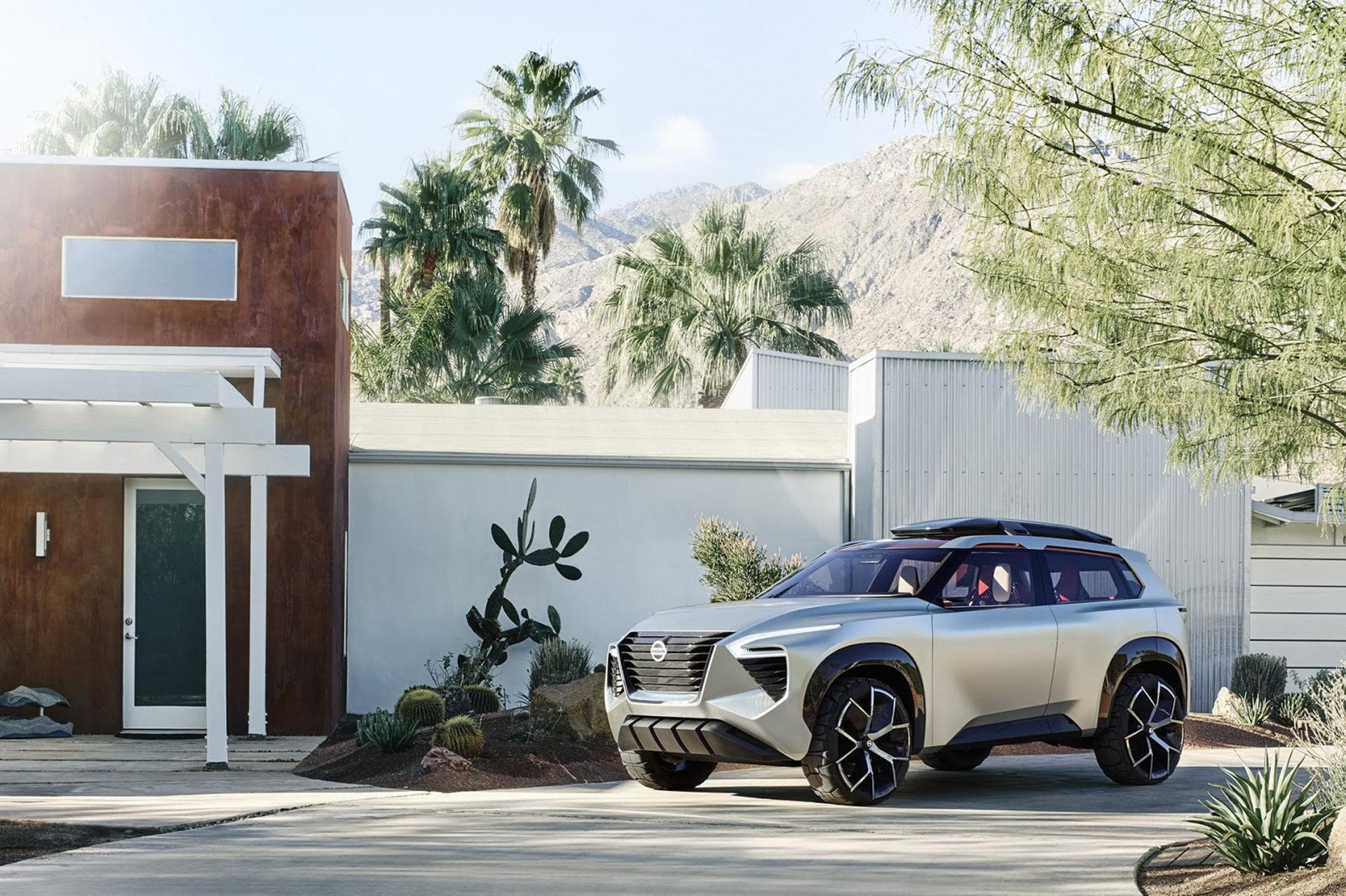 Nissan visar konceptklossen Xmotion