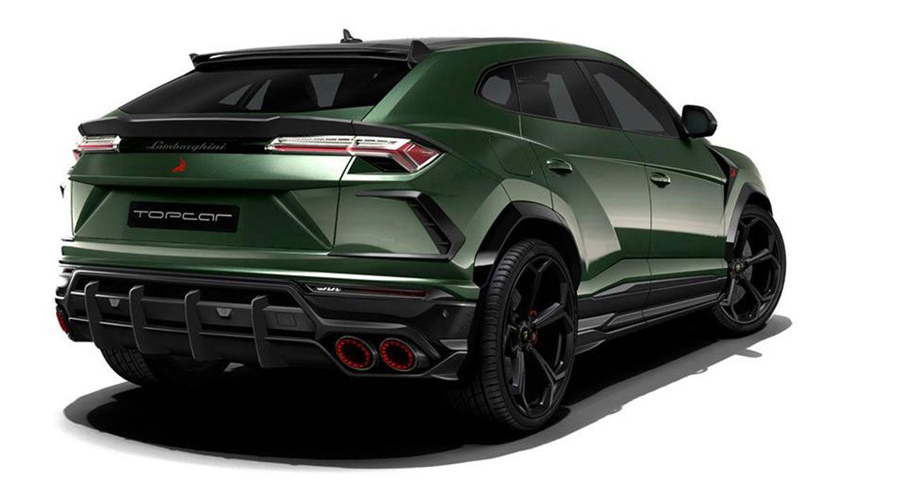 Ryska TopCar tjockar till Lamborghini Urus