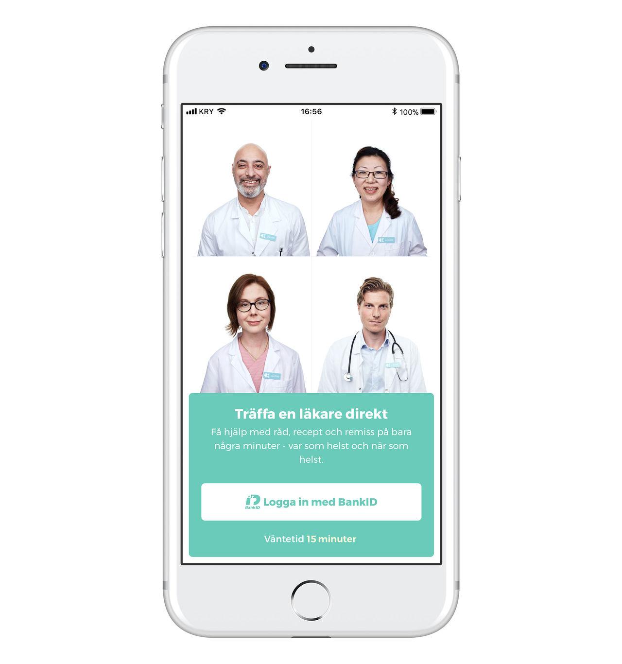 Stockholmare bäst på att använda digitala vårdtjänster