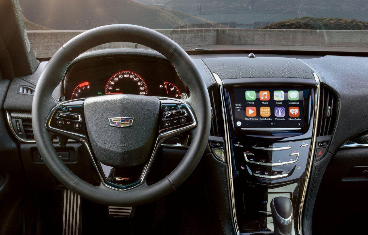 Cadillacs VD dissar CarPlay