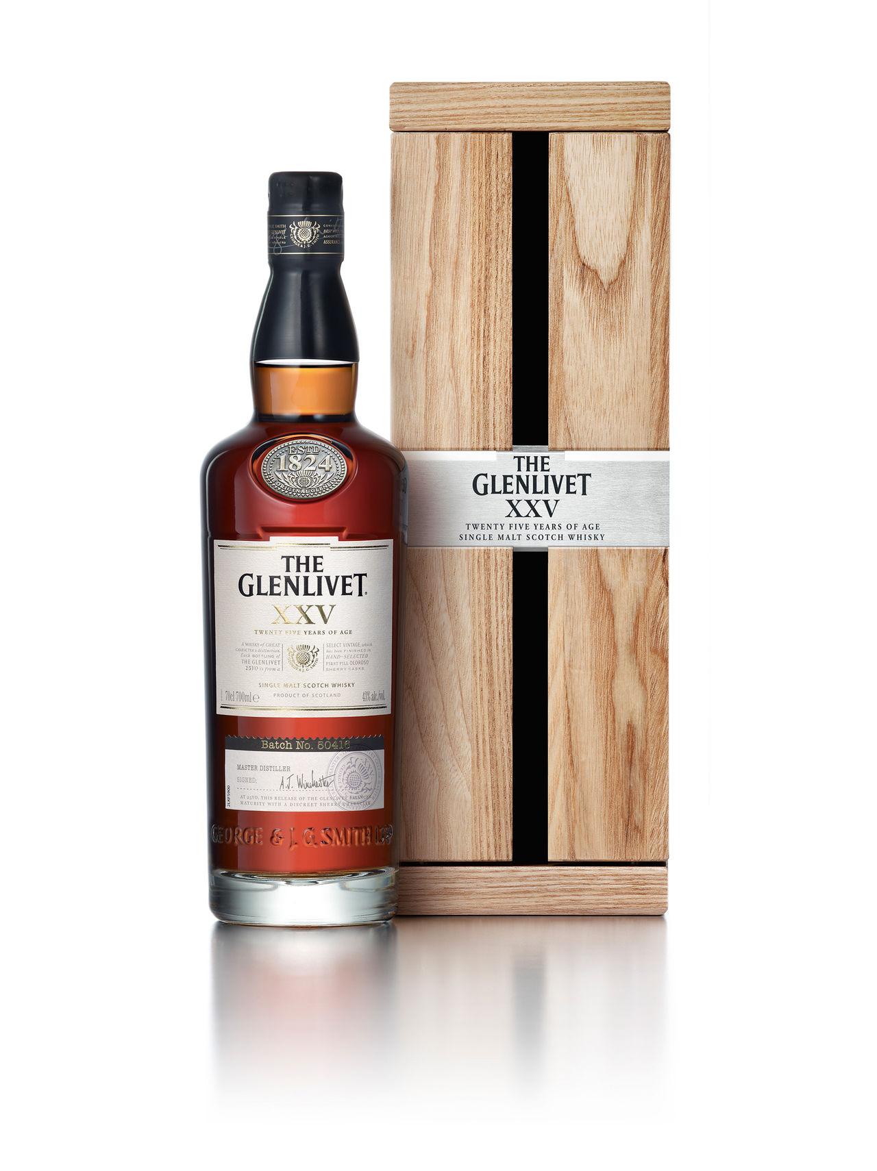 Whiskyn The Glenlivet XXV släpps idag