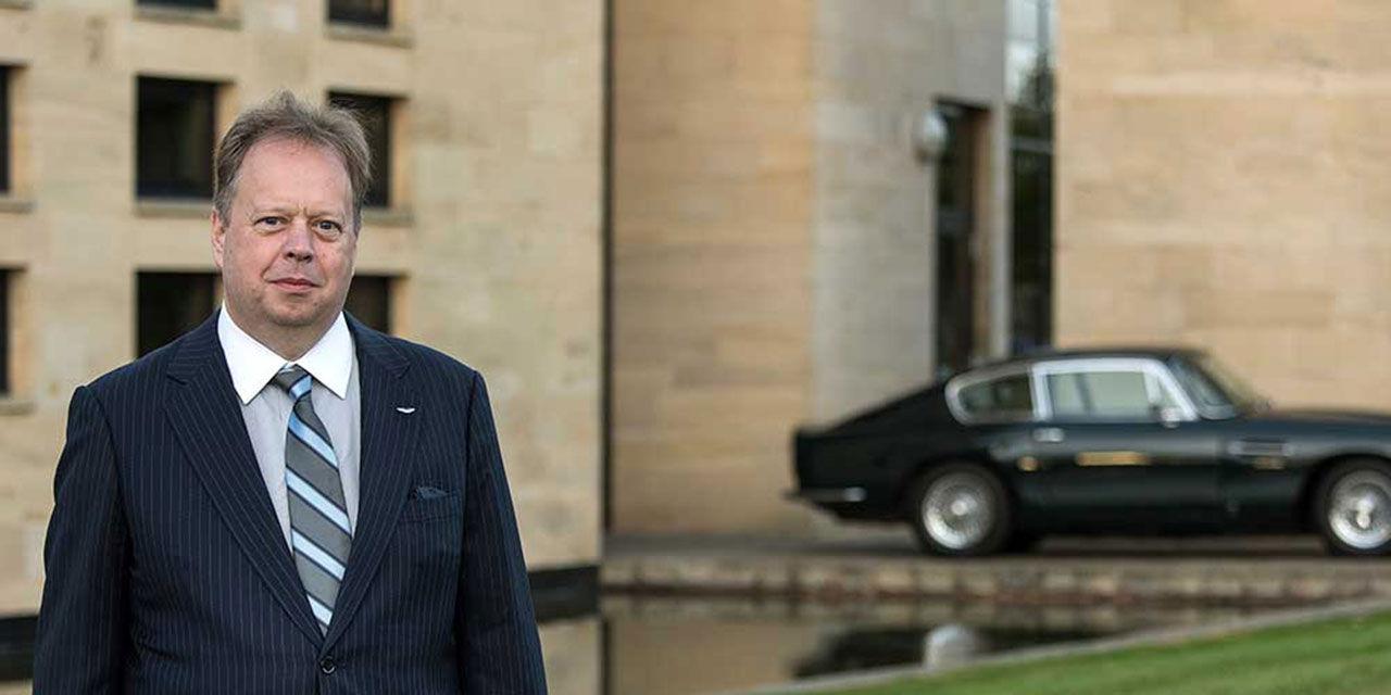 Aston Martins vd tror inte på Dysons elbil