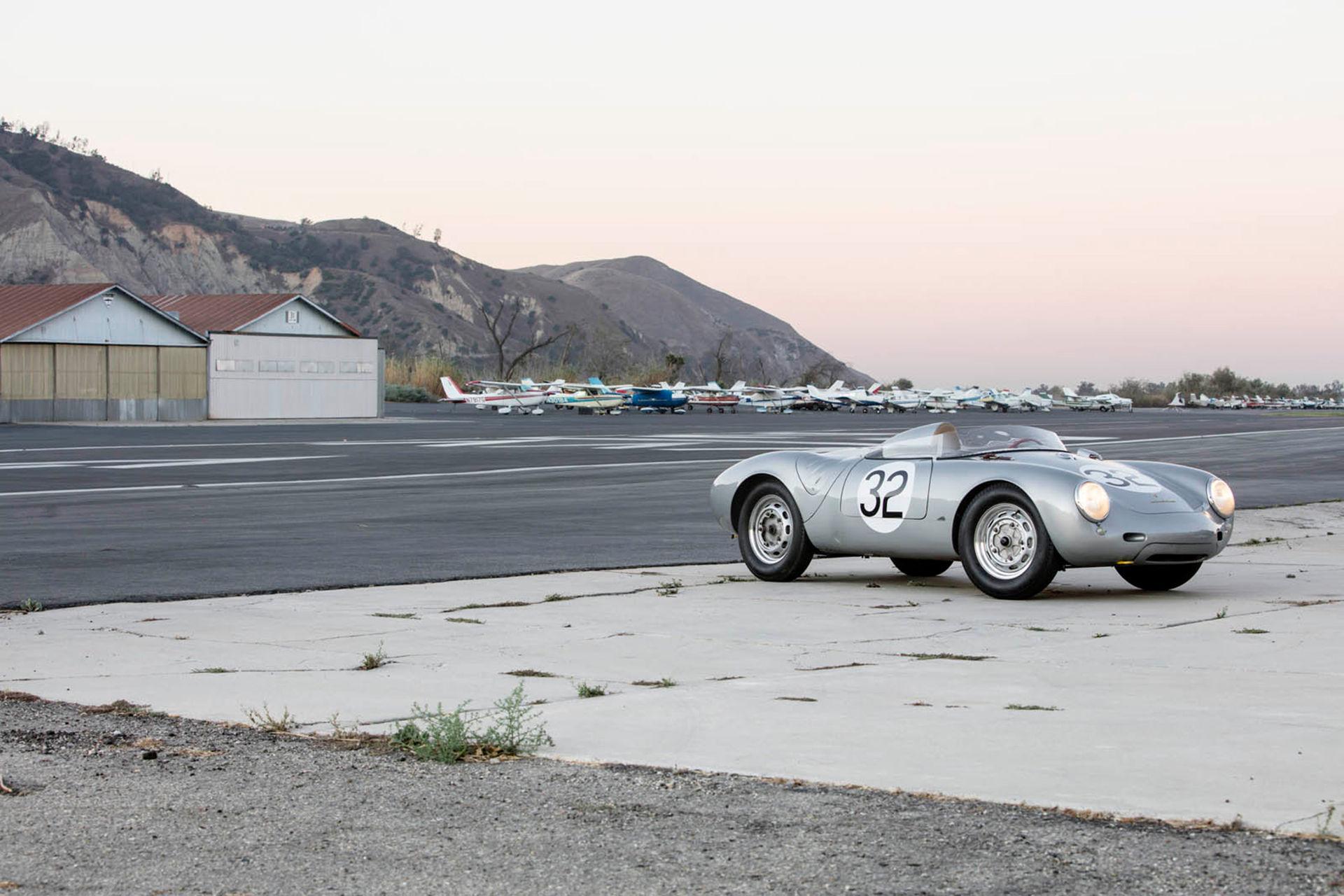 Klassisk Porsche Spyder gick för rekordsumma