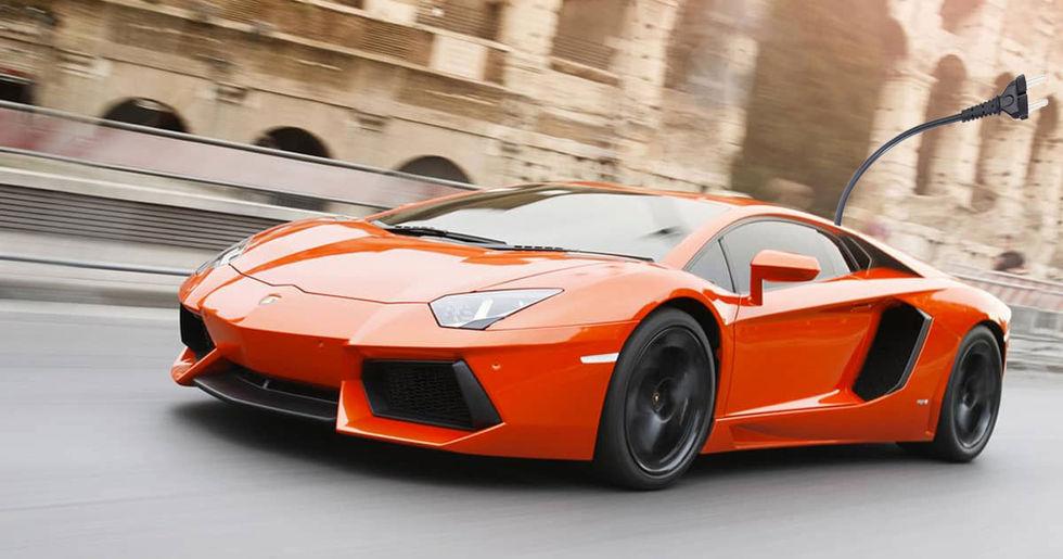 Efterträdaren till Lamborghini Aventador får elhjälp