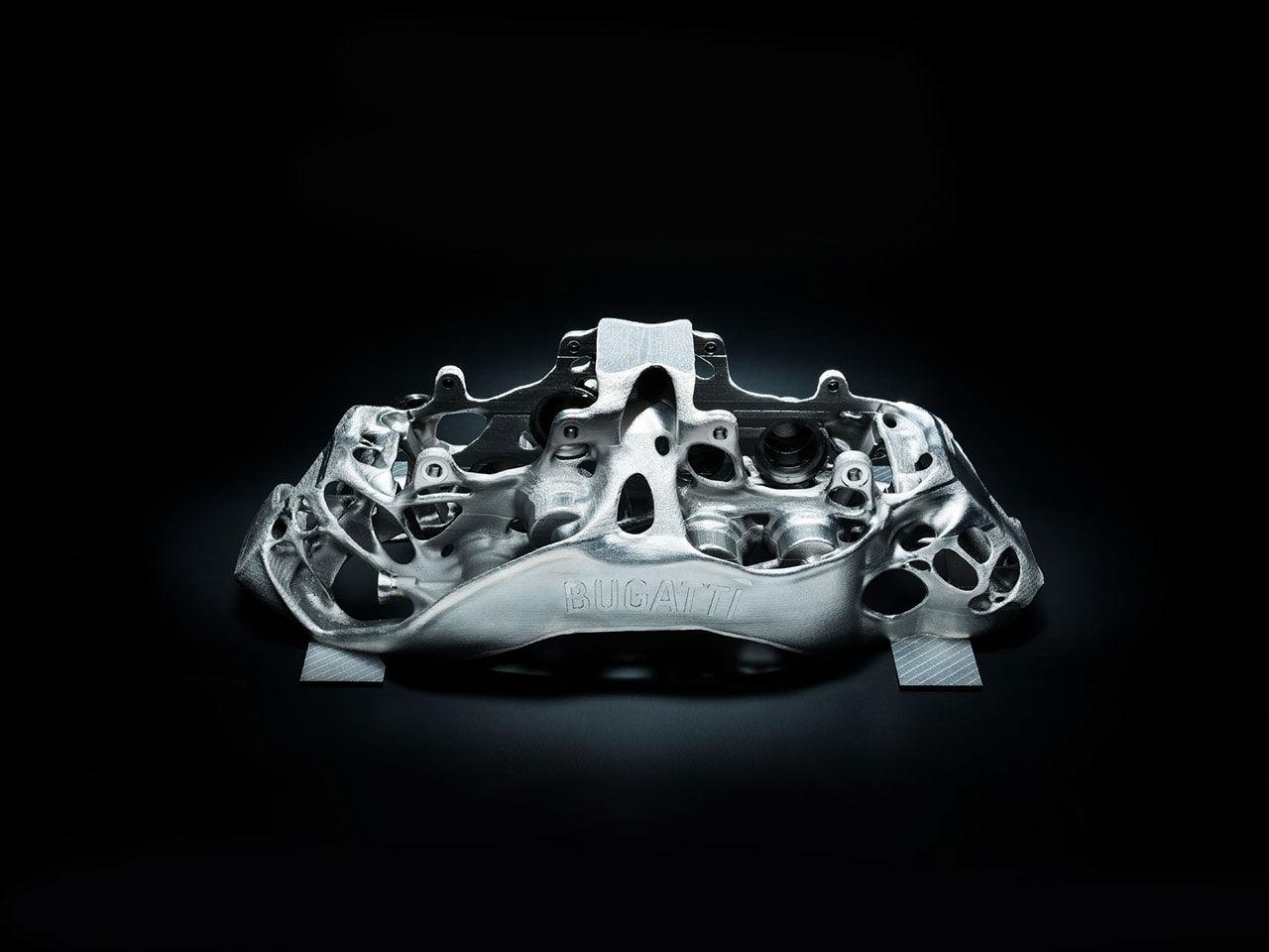 Bugatti har skrivit ut ett bromsok