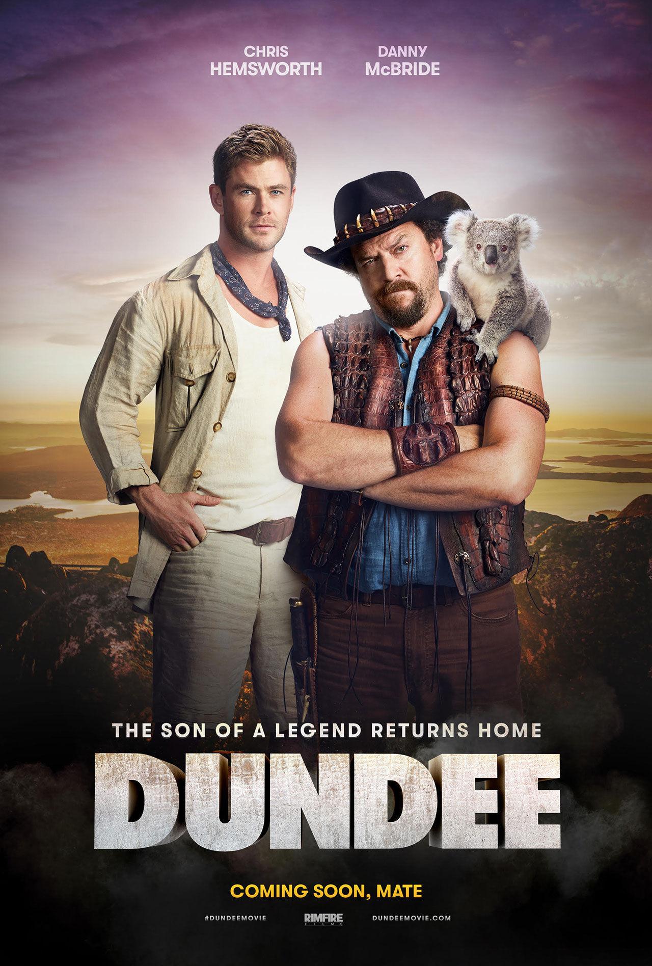 Teasers för ny Crocodile Dundee-film