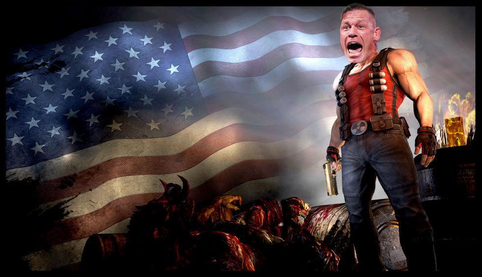 John Cena kan medverka i Duke Nukem-film