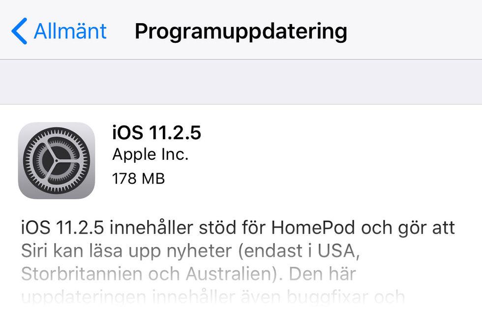 Apple uppdaterar hela raddan med operativsystem