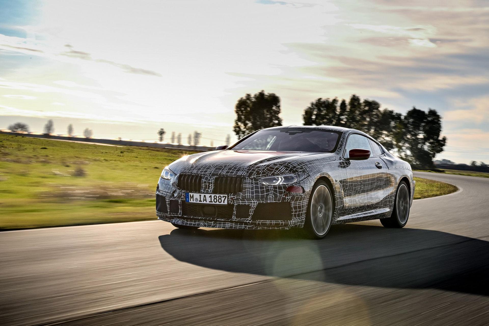 BMW visar upp 8-serien med maskering