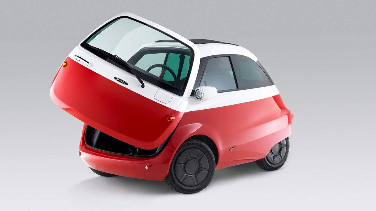 Eldrivna Isetta-kopian börjar tillverkas i vår