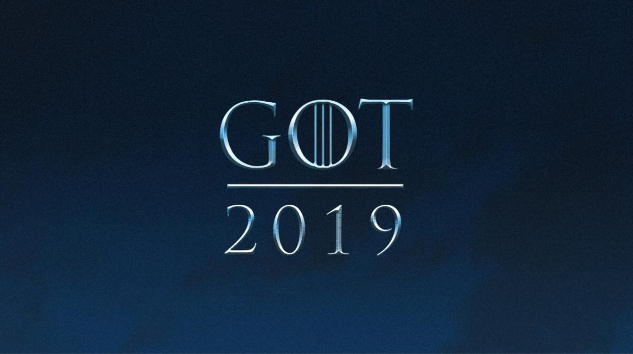 Game of Thrones fortsätter i april 2019