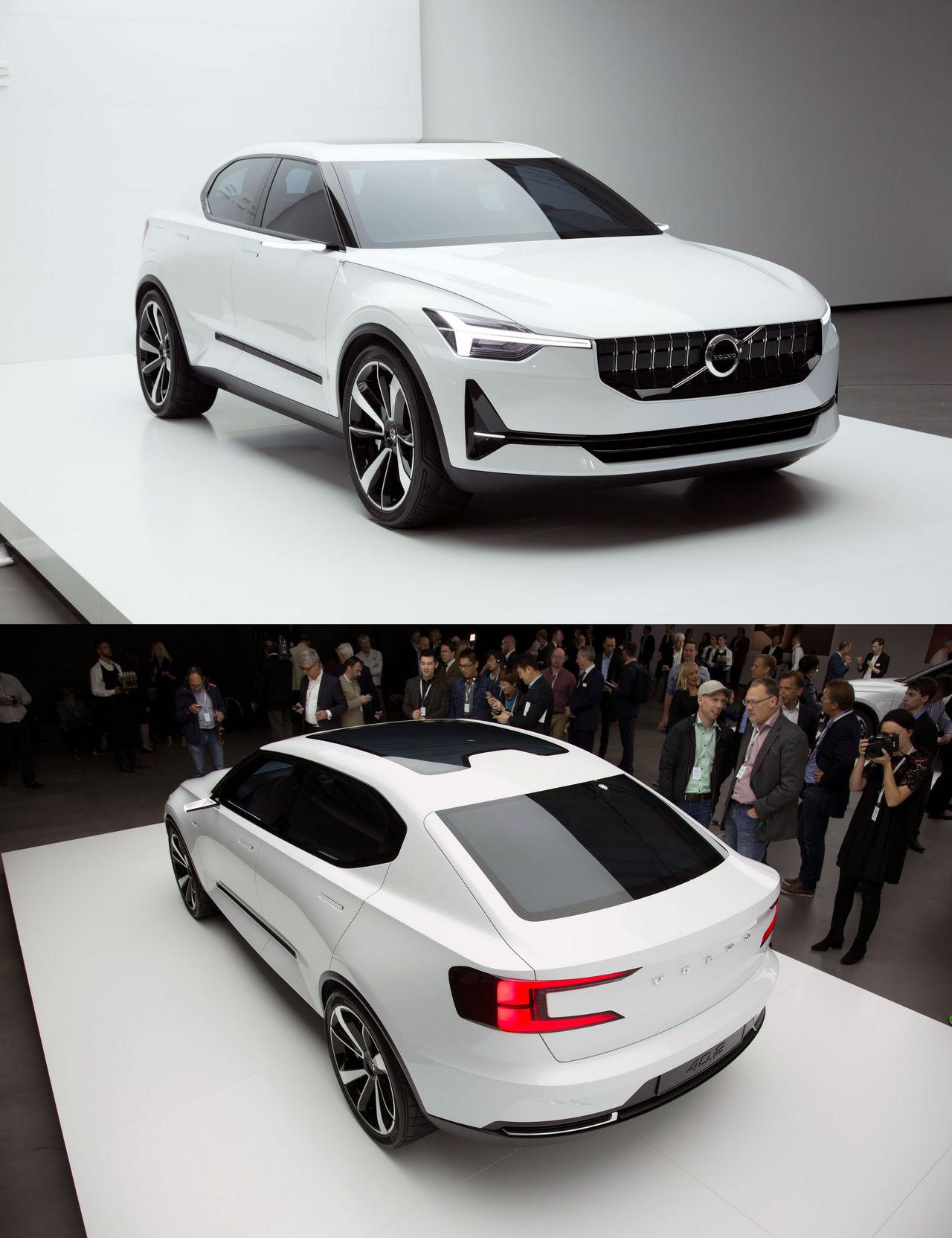 Första helt elektriska Volvon kommer nästa år