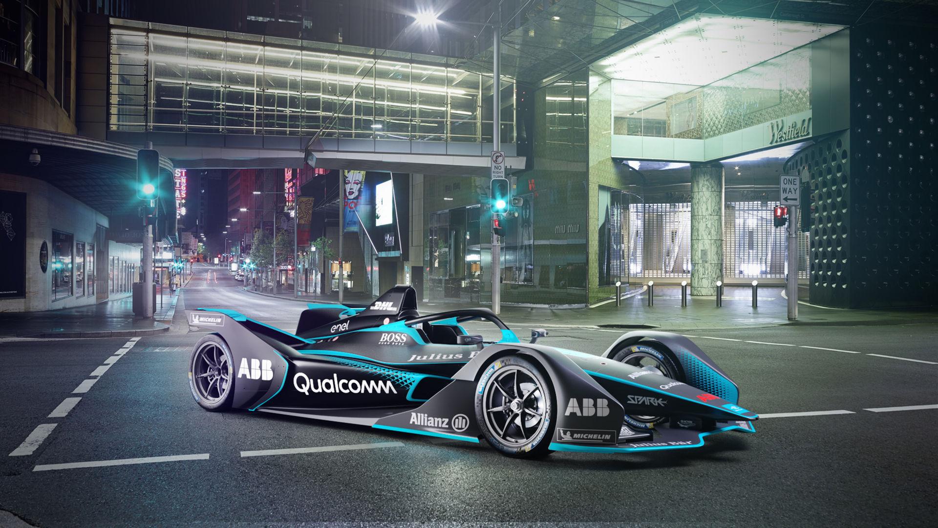 Det här är den nya generationen Formel E-bil