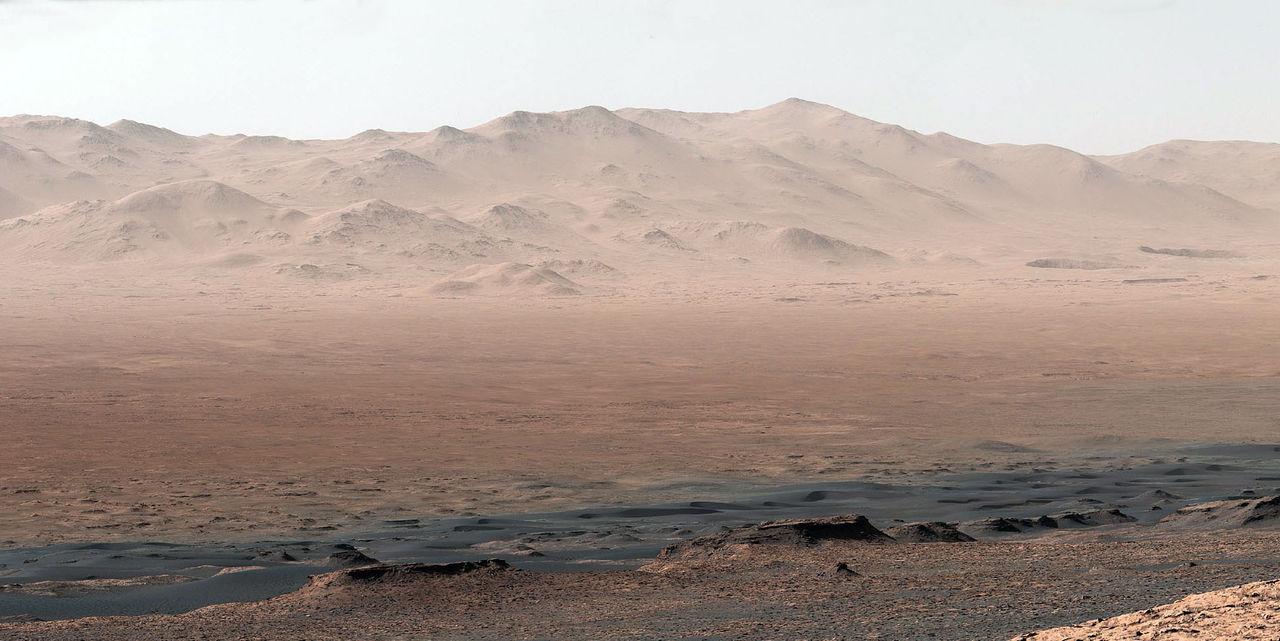 Curiosity har tagit fantastiska panoraman på Mars