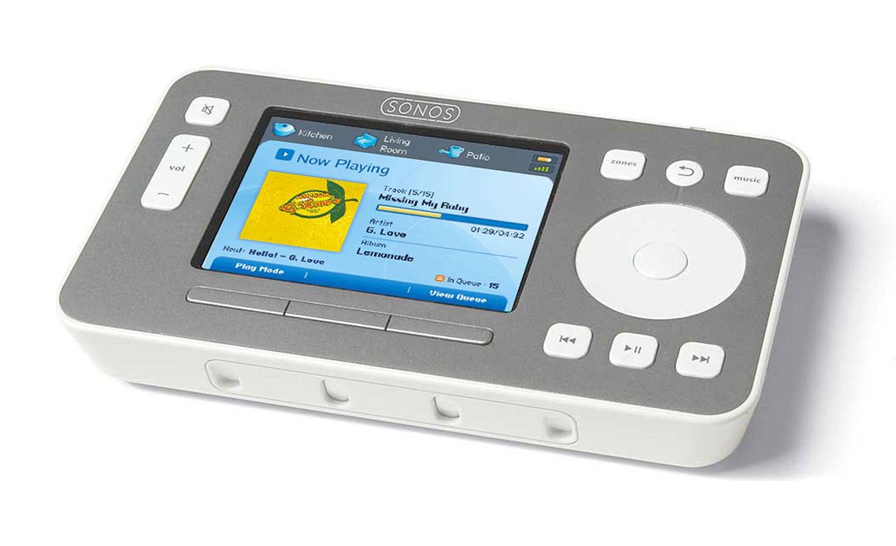Nu är det slutlekt med Sonos fjärr CR100
