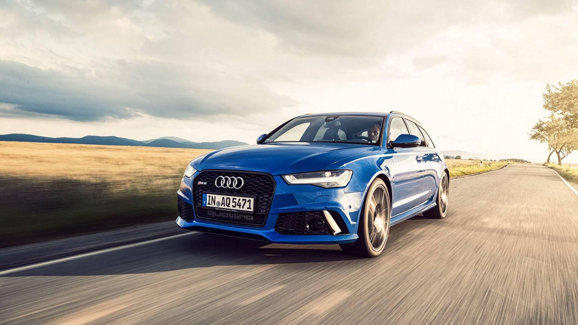 Audi och ABT släpper specialversion av RS6 Avant