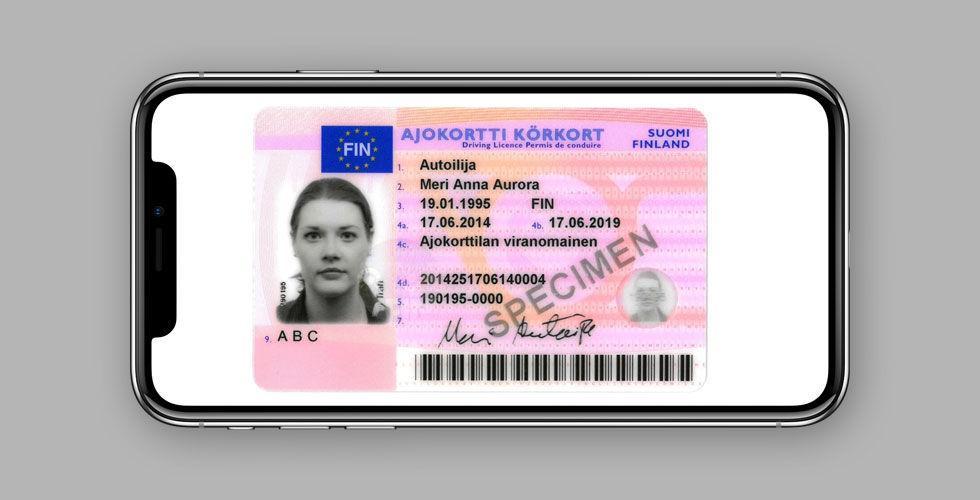 Finland inför digitalt körkort