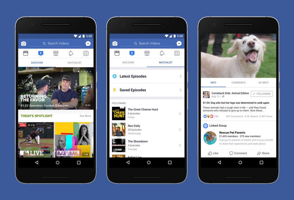 Facebook kan komma att dela med sig av intäkter till videoskapare