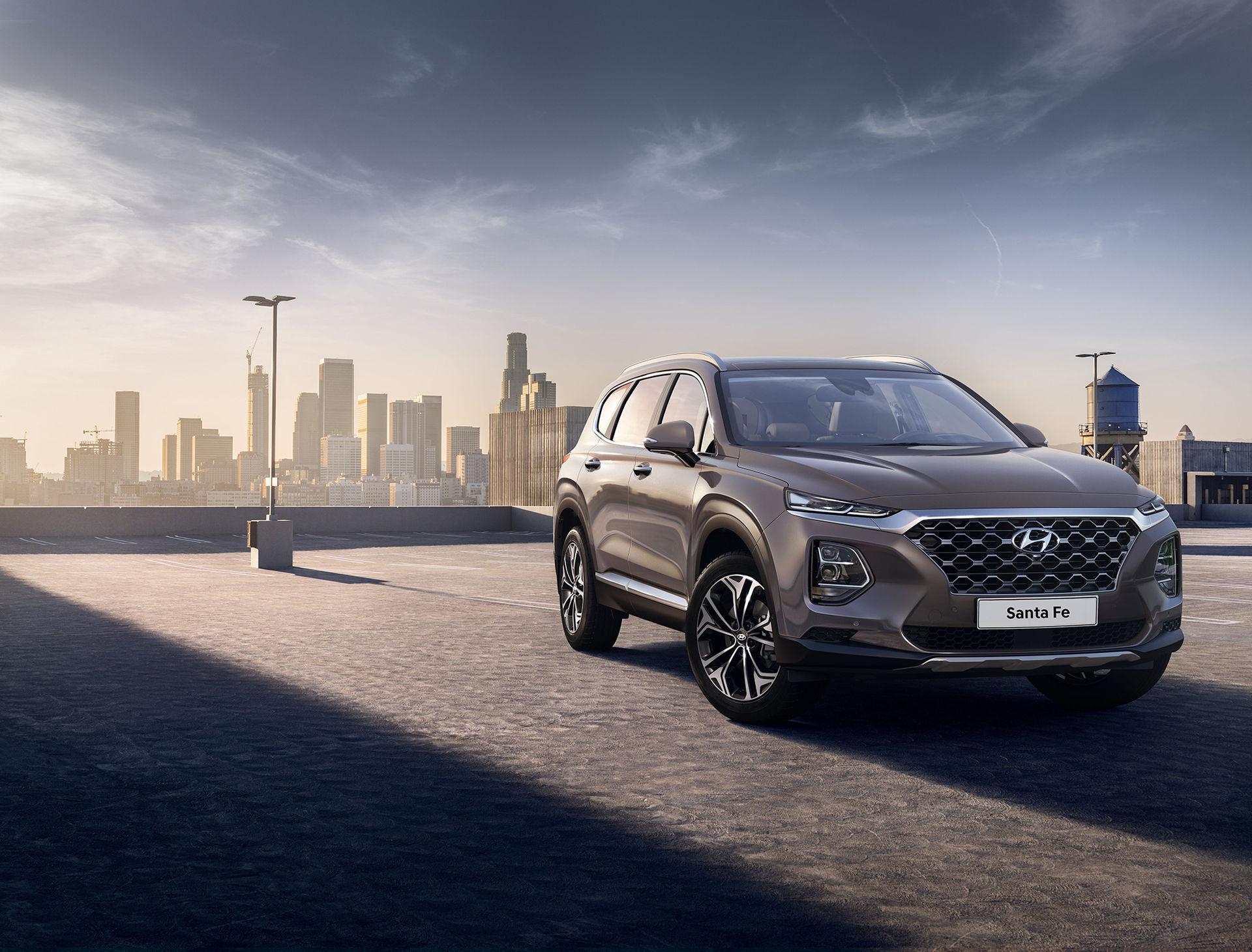 Första bilderna på Hyundais nya Santa Fe