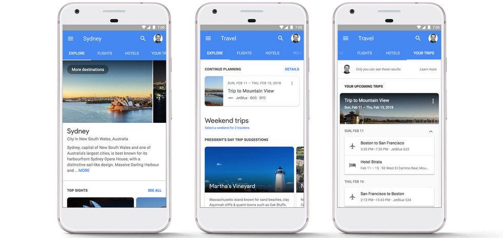 Boka hotell och flyg direkt i Googles sökresultat
