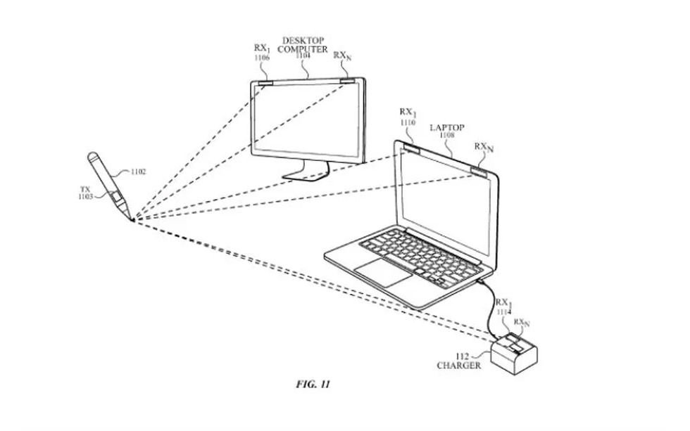 Ska Apple göra en stylus som kan skriva i luften?