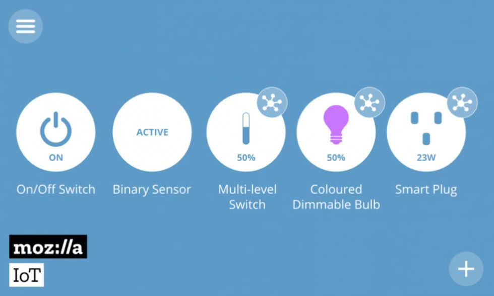 Mozilla släpper plattform för smarta hemmet
