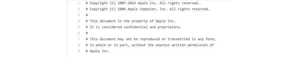 Läckt iOS-kod ska vara föråldrad säger Apple