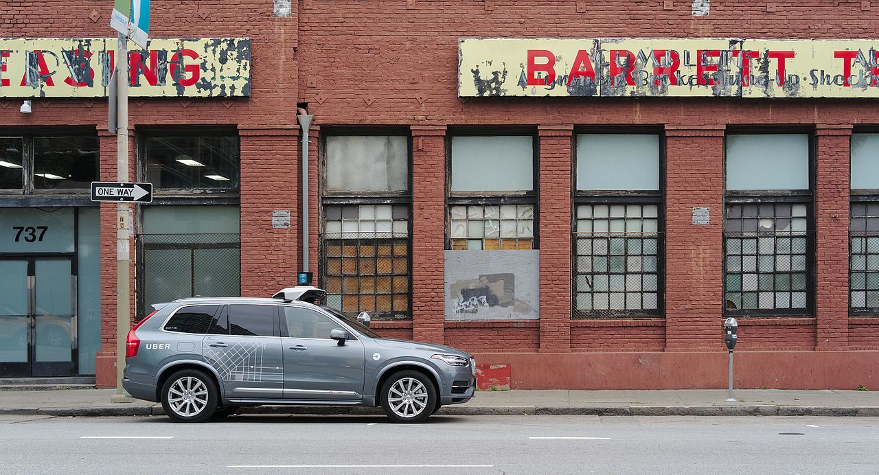 Uber gör upp med Waymo
