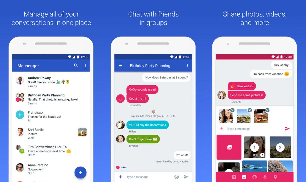 Snart kan Android skicka SMS från webben