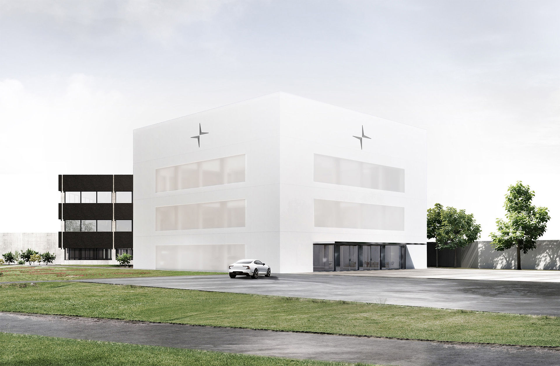 Så här kommer Polestars kontor i Torslanda att se ut