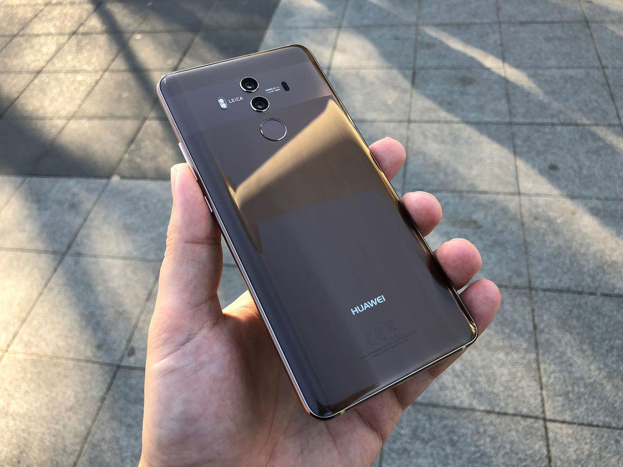 Huawei fick folk att recensera en osläppt telefon
