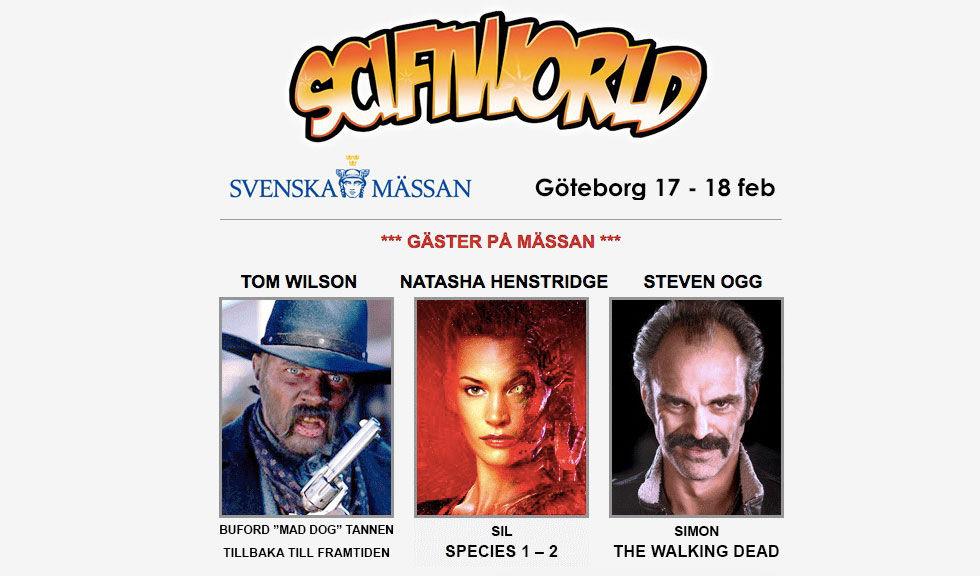 SciFiWorld kommer till Göteborg till helgen