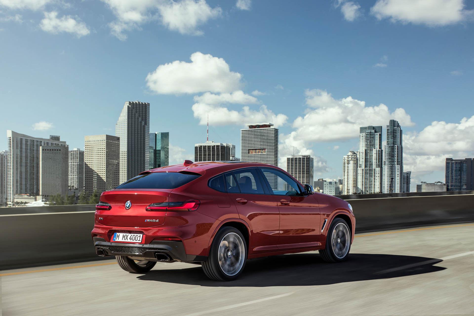 BMW uppdaterar X4