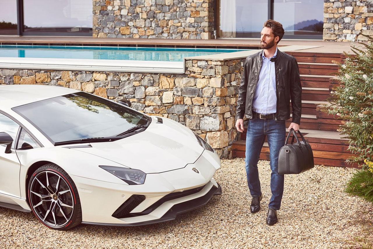 Lamborghini visar vår/sommar-kollektion