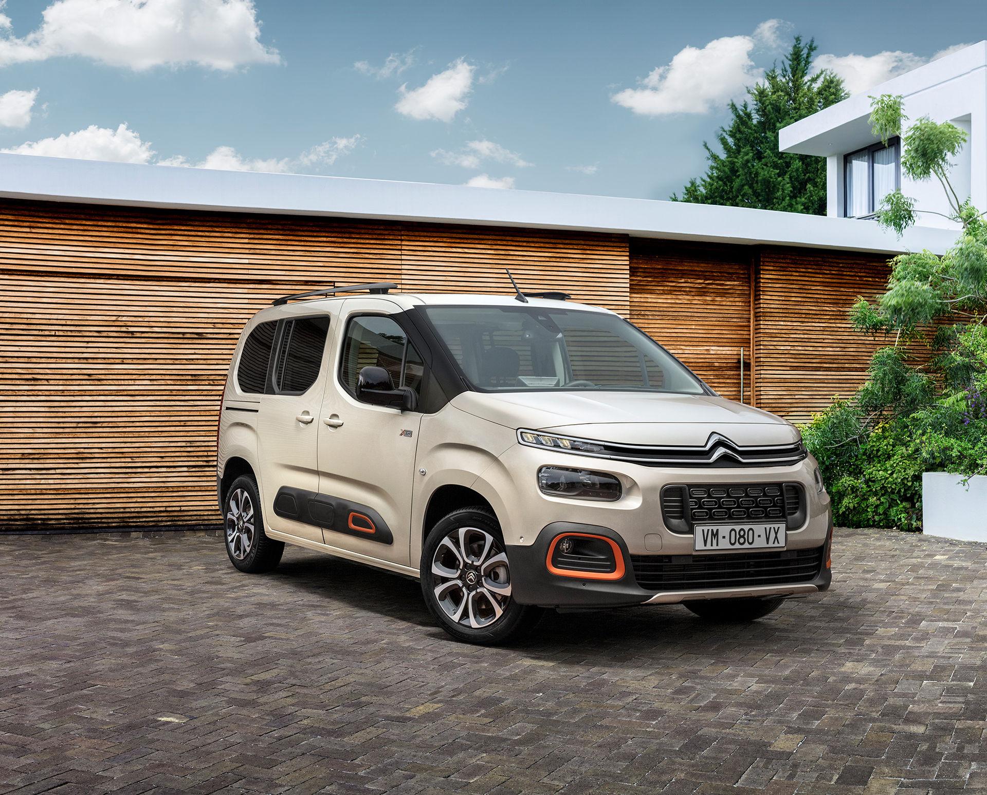 Citroën uppdaterar Berlingo