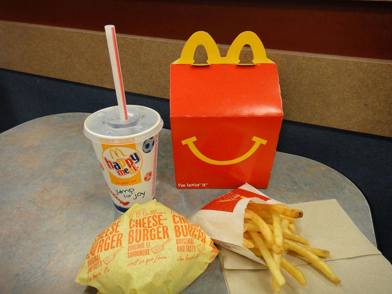 Happy Meal ska bli mer hälsosam