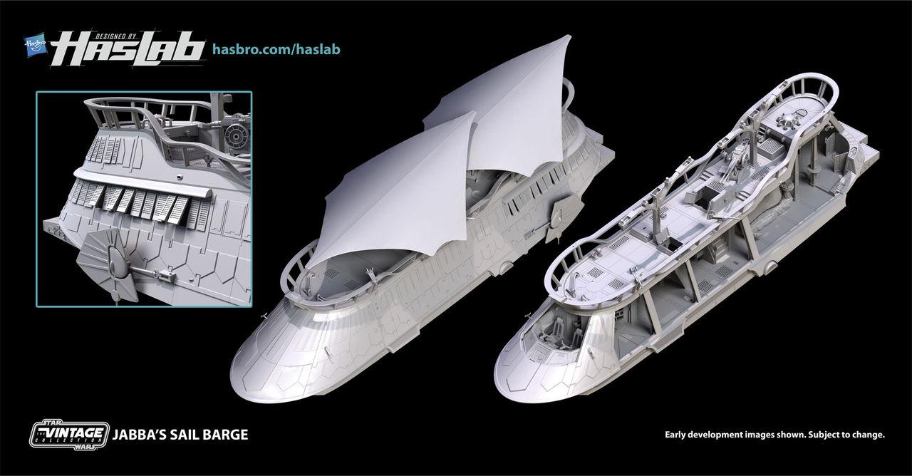 Hasbro vill crowdfunda Jabba the Hutts flygande skepp