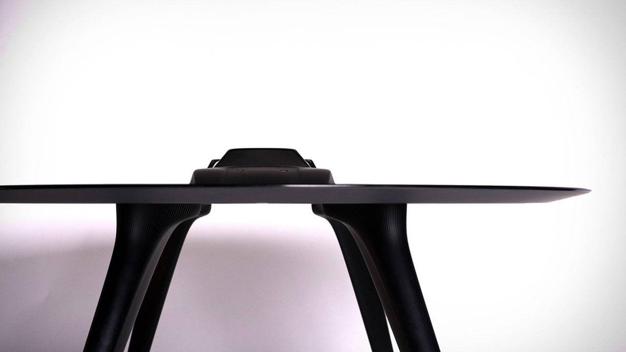 Aluminiumbord med Ferrari F40 i