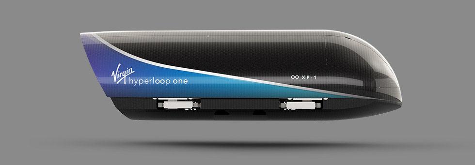 Indien vill också bygga hyperloop-bana