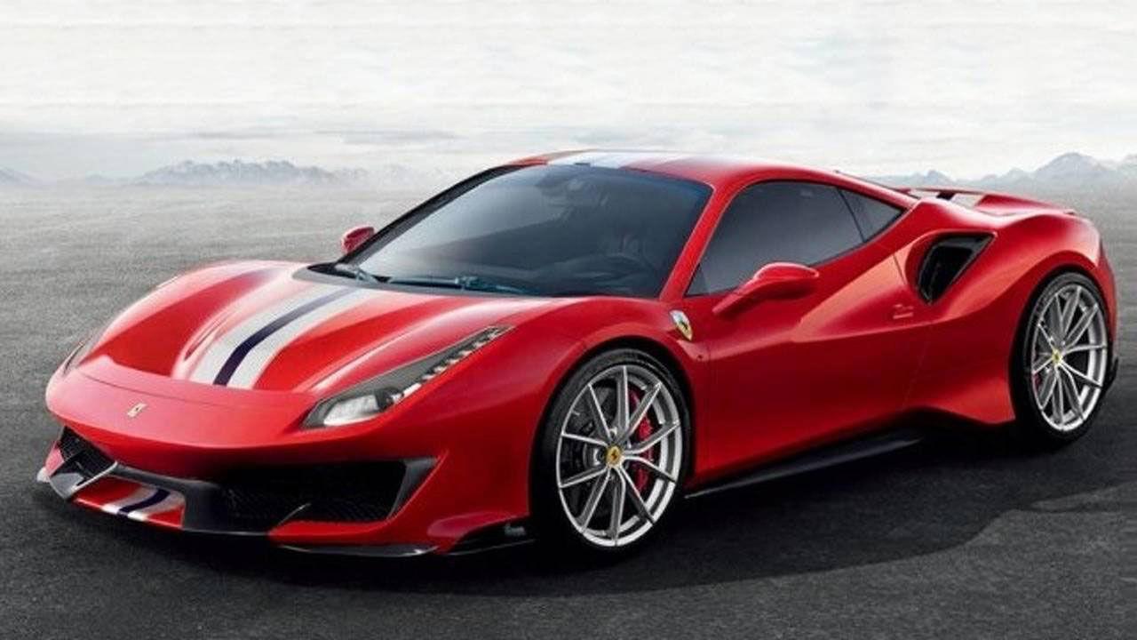 Ferrari 488 Pista läcker ut