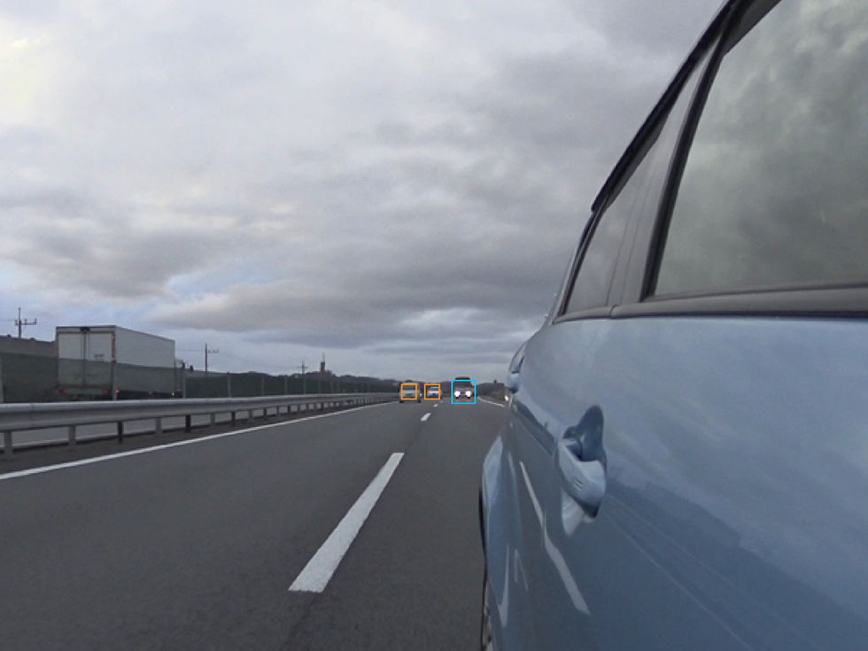 Mitsubishi hoppas att deras kameror ska ersätta backspeglar
