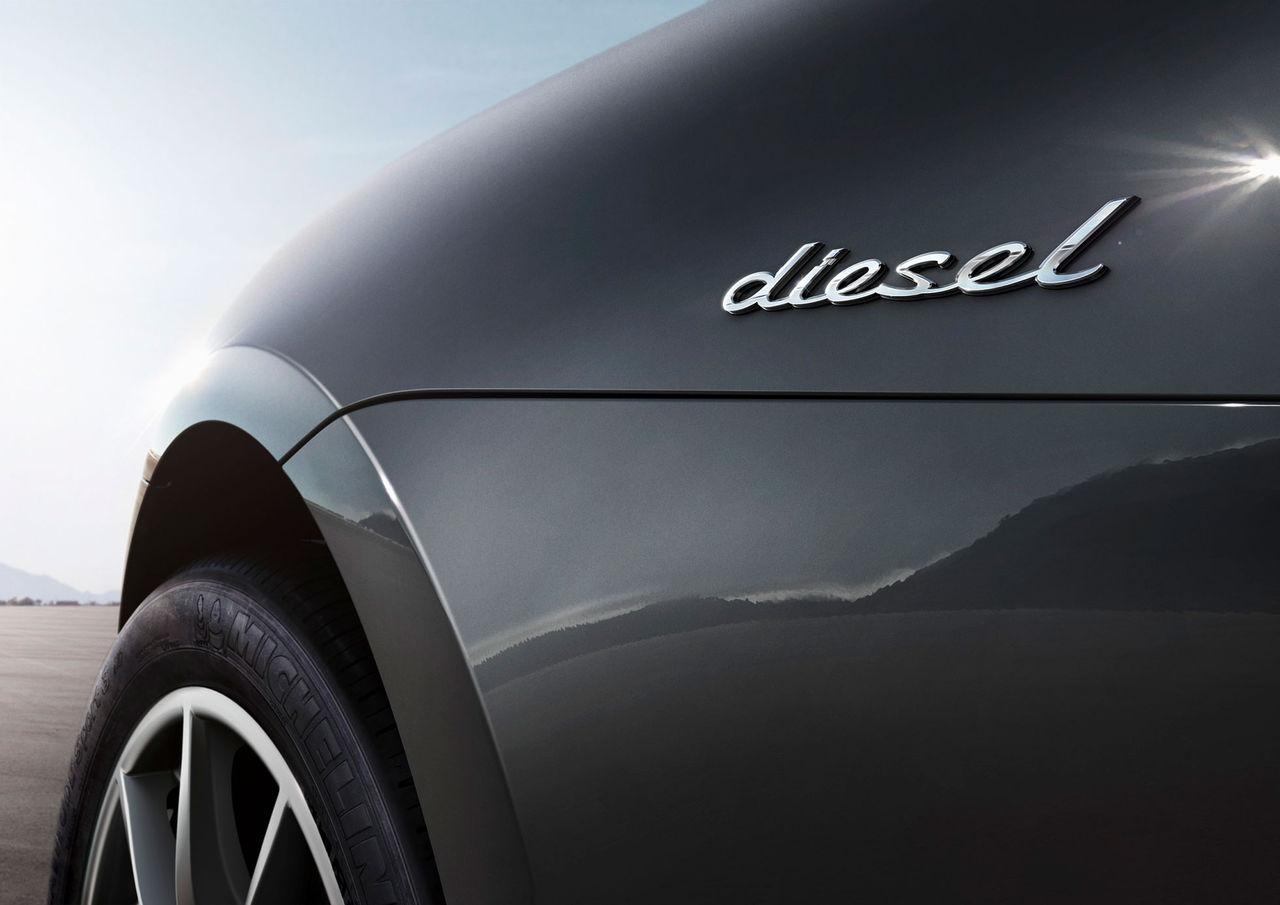 Slut med diesel hos Porsche