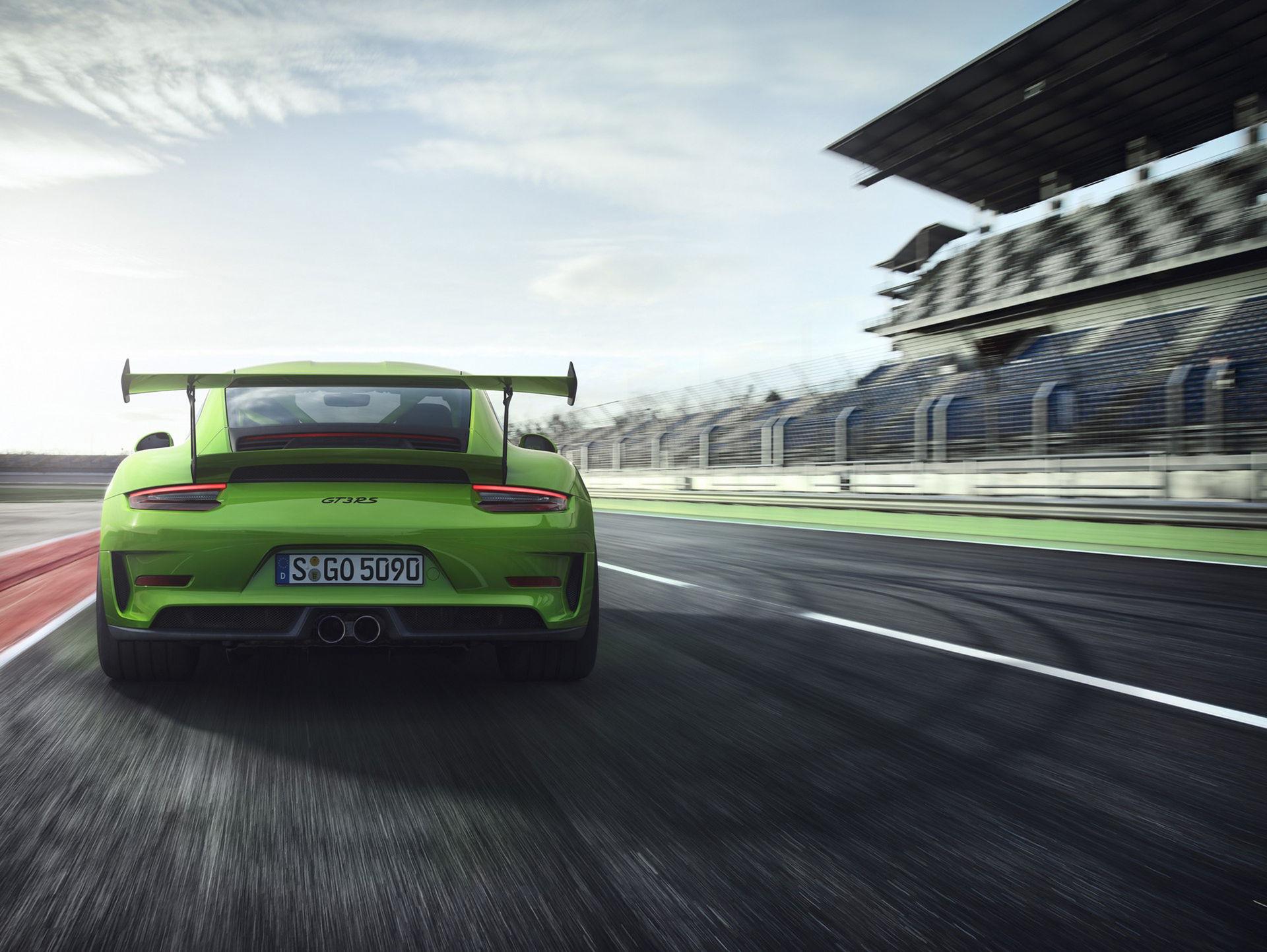 Nya Porsche 911 GT3 RS är här