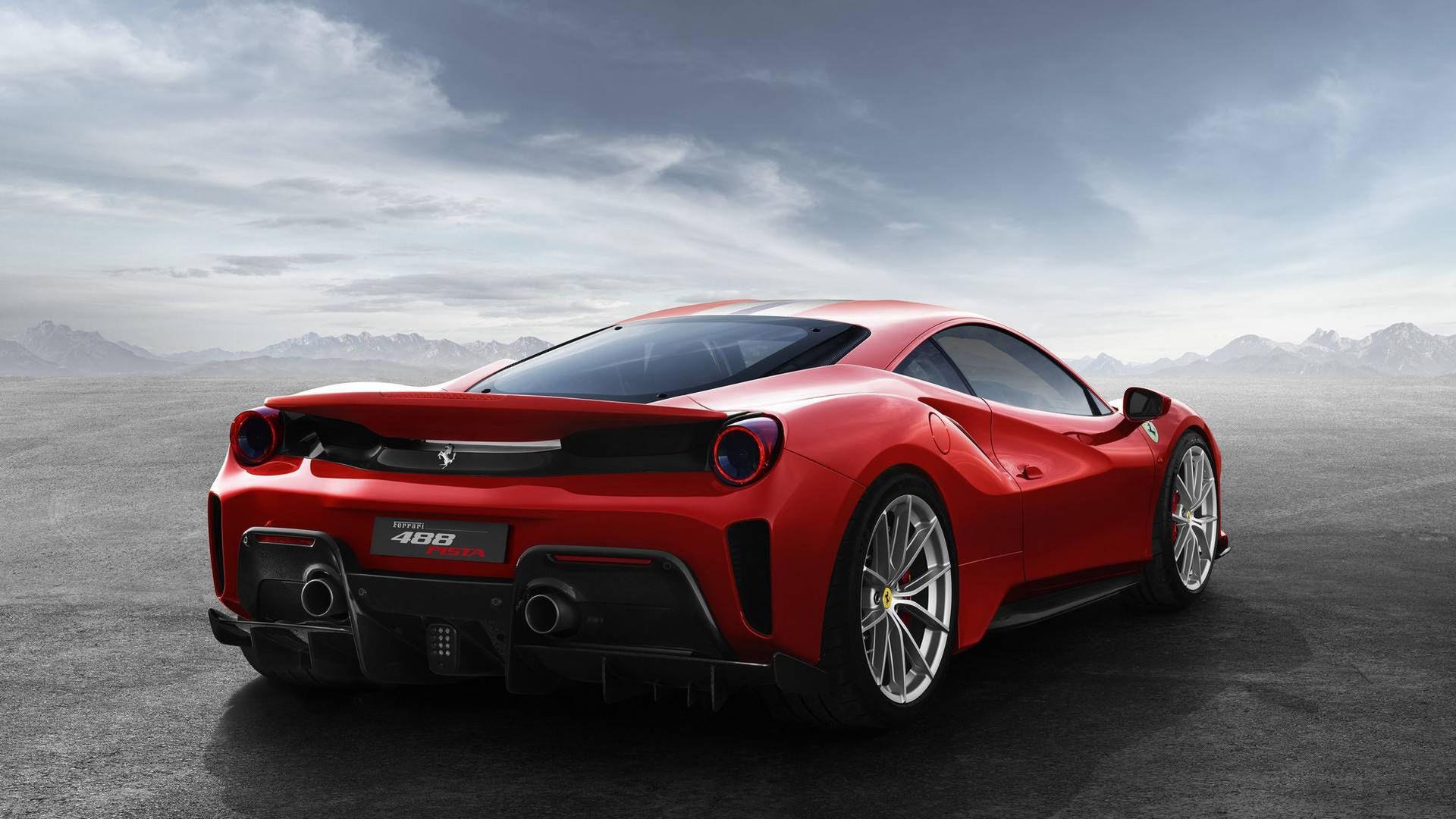 Ferrari presenterar vassa 488 Pista