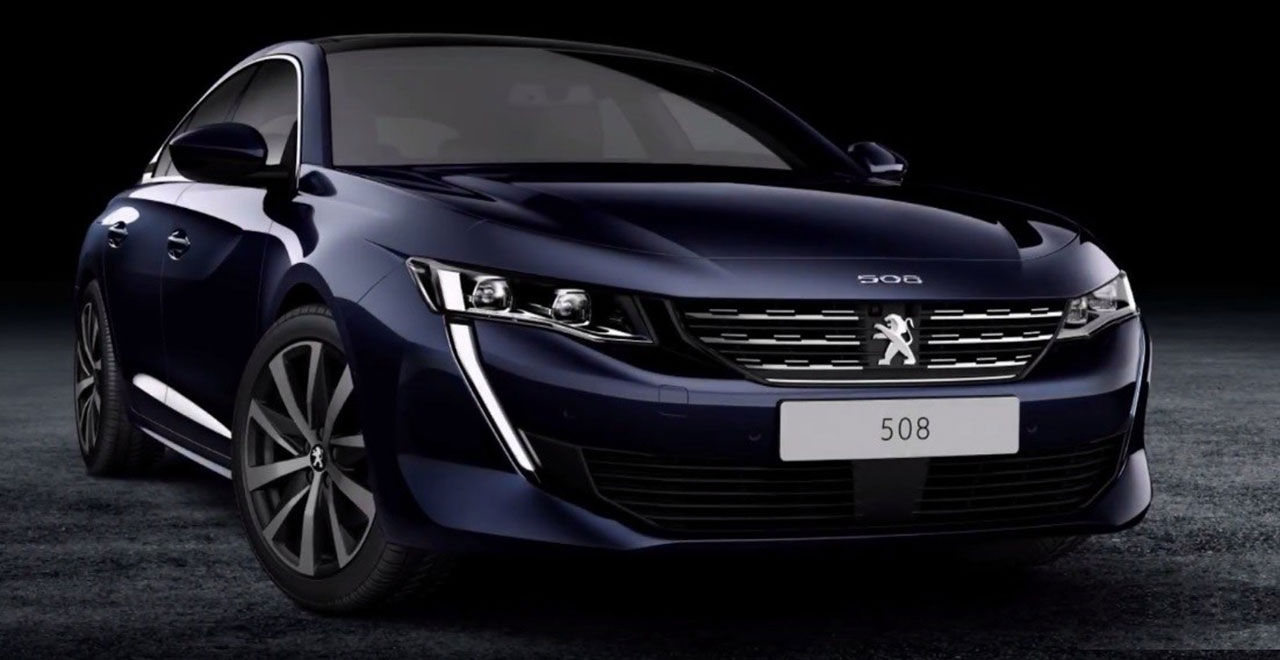 Nya Peugeot 508 läcker ut