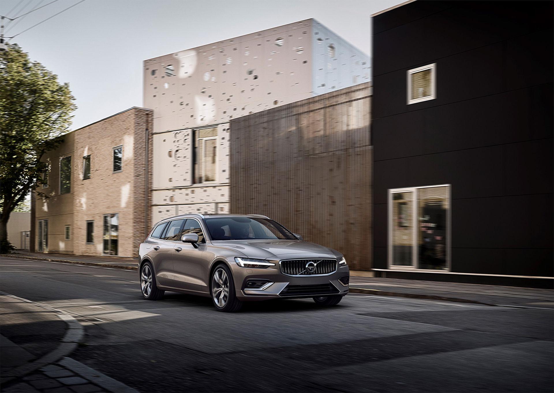 Volvo presenterar nya V60
