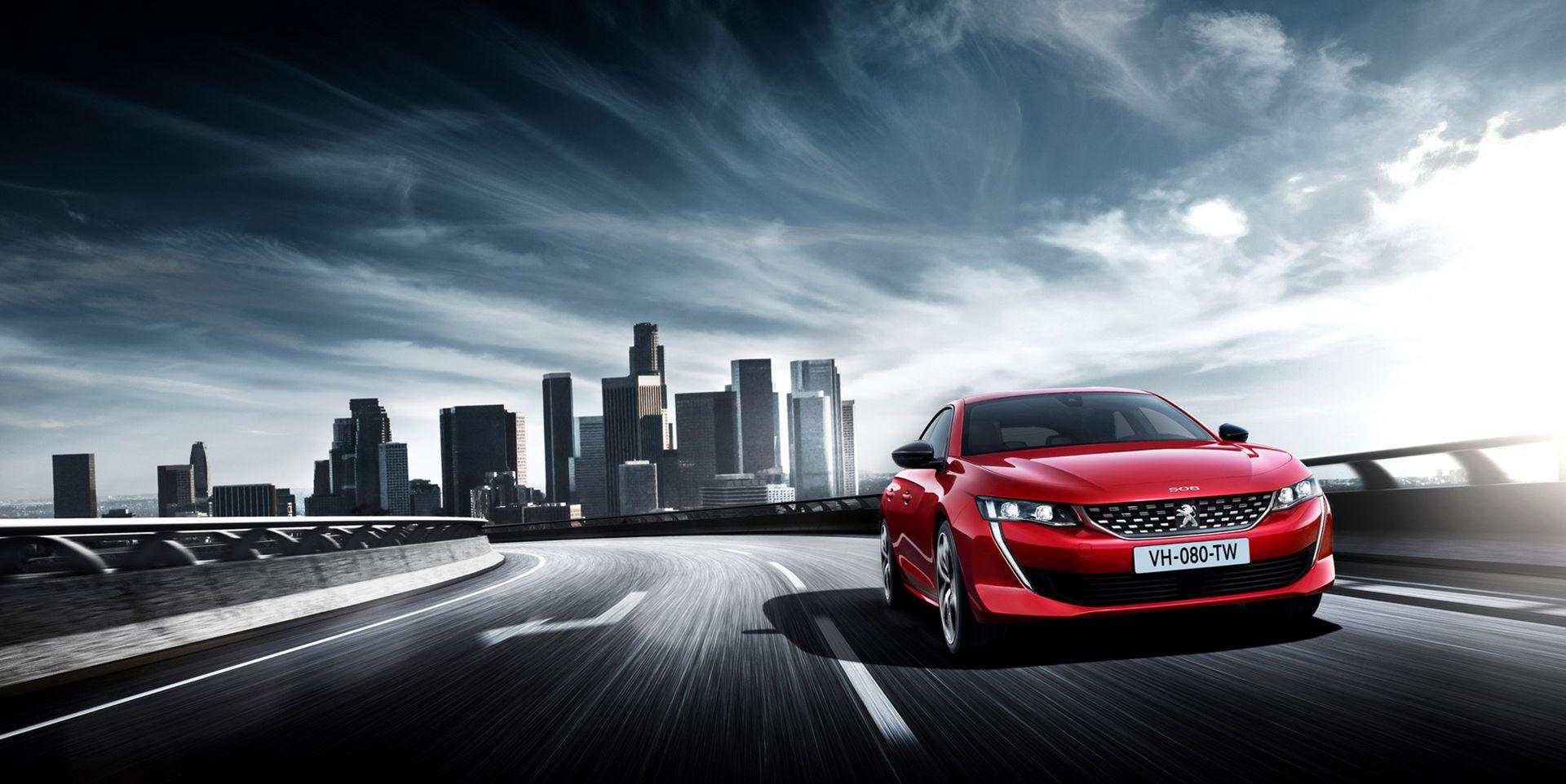 Peugeot presenterar nya 508