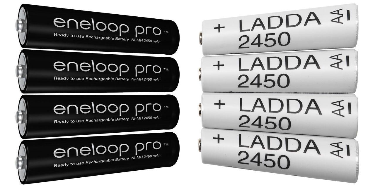 Är IKEA:s Ladda batterier egentligen Eneloop batterier? Läge