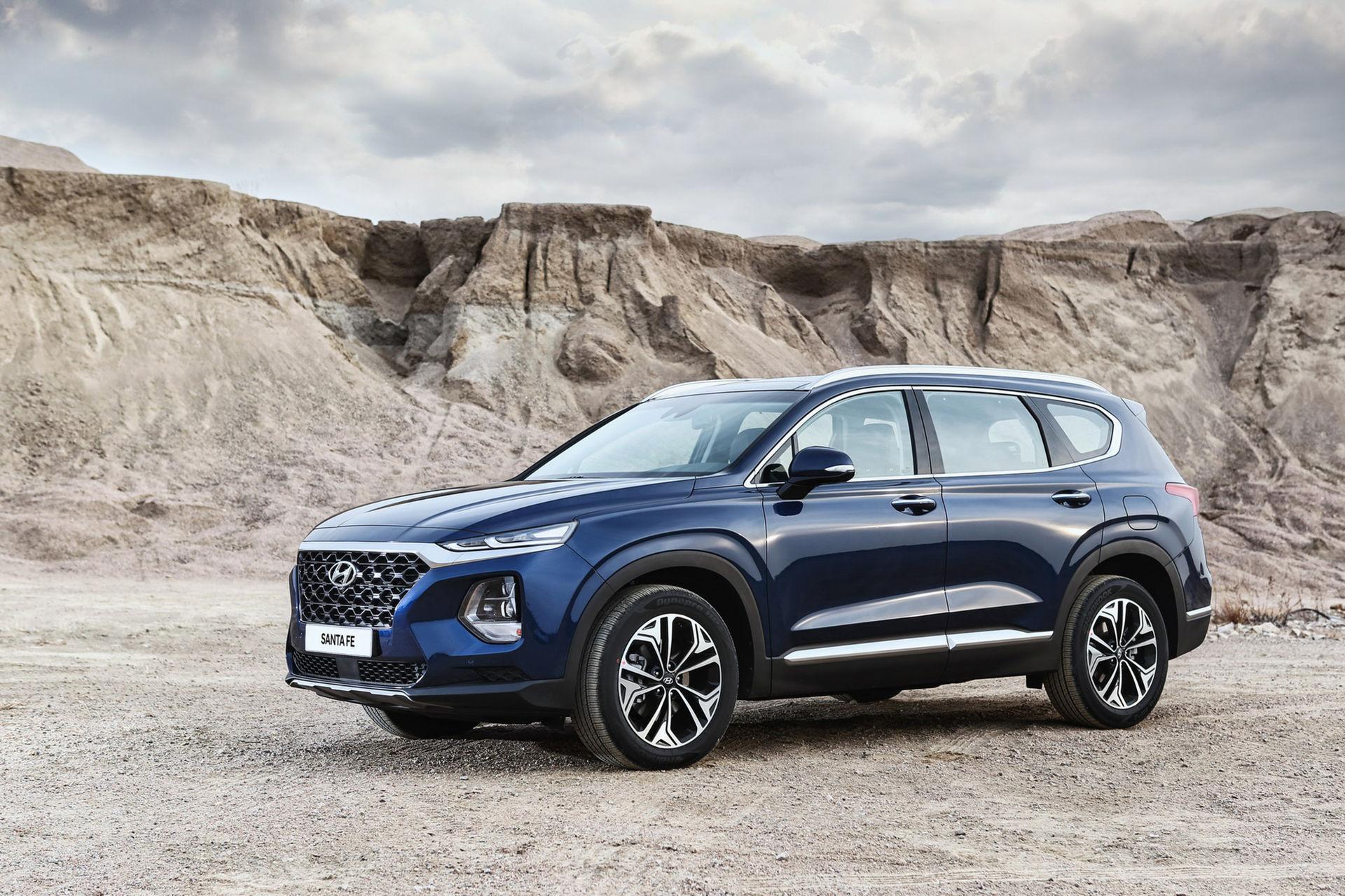 Hyundai visar upp nya Santa Fe